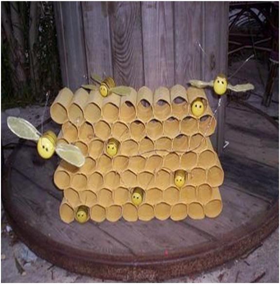 Honeypot Preschool: Egg Carton Bumble Bee Craft For Preschool « Funnycrafts