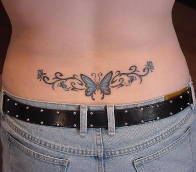 Lower+Back+Tattoos+for+Women | Hottest Lower Back Tattoos Designs For Girls | PieWay