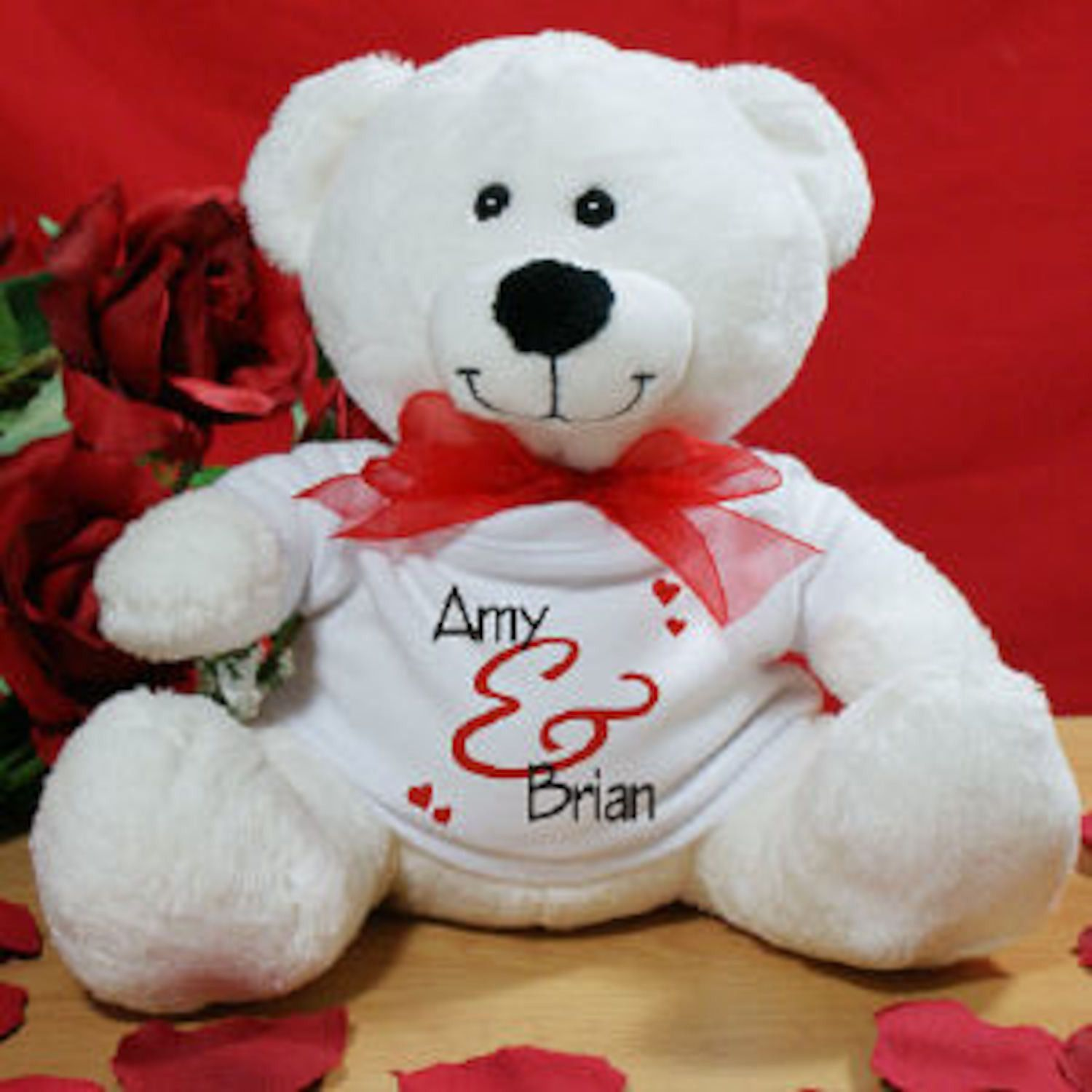 personalized valentine teddy bear | products, Ideas