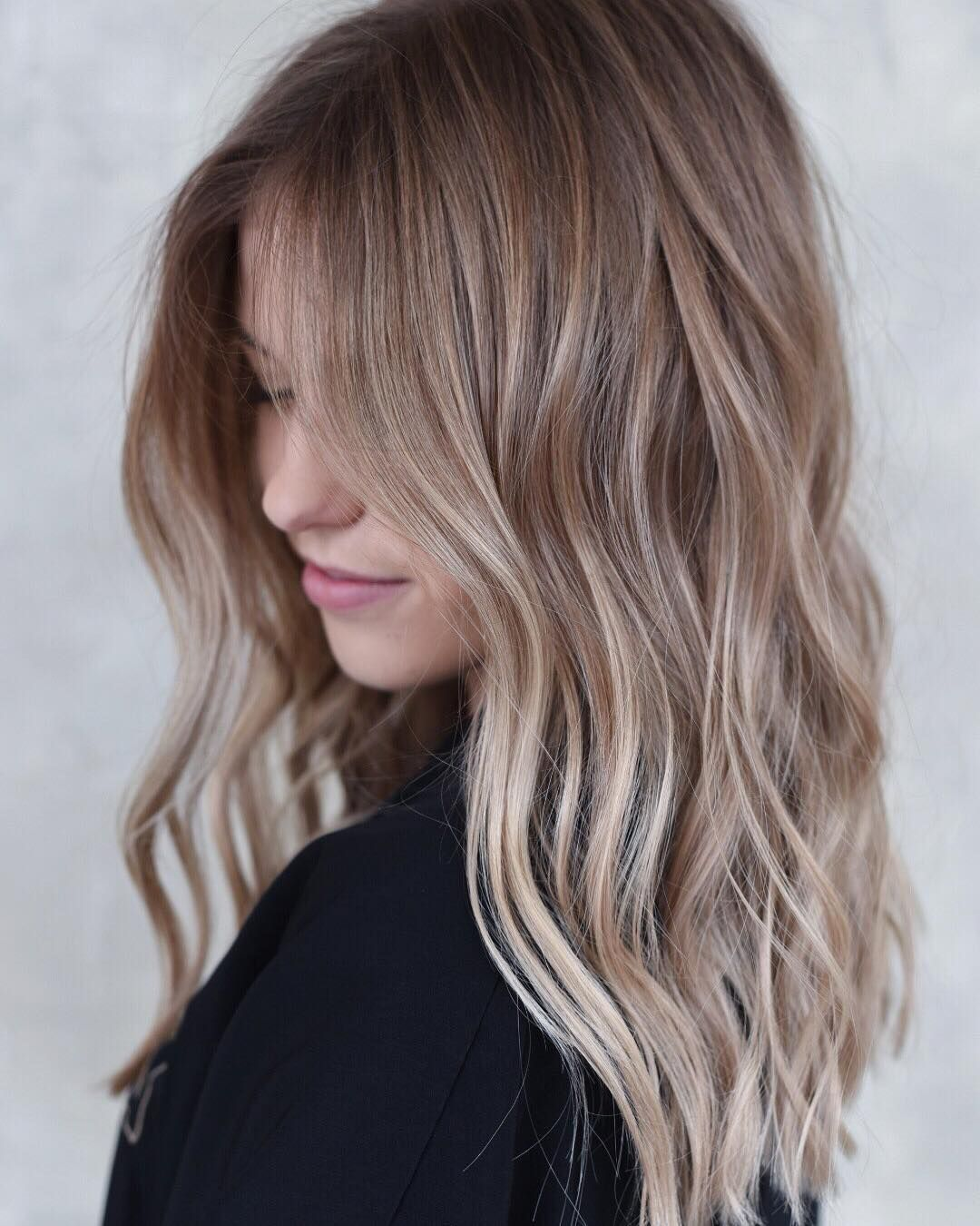 15 Light Brown Hair Color Ideas with Highlights and Lowlights ...