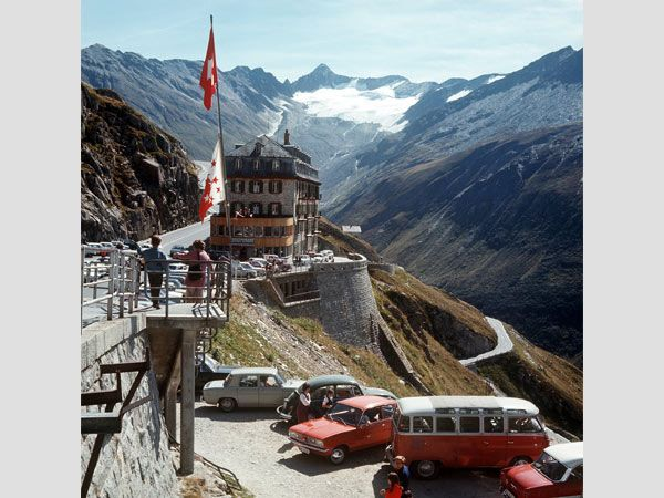 Abandoned Hotel Belvedere In Furka Pass Traumhafte Lage Das