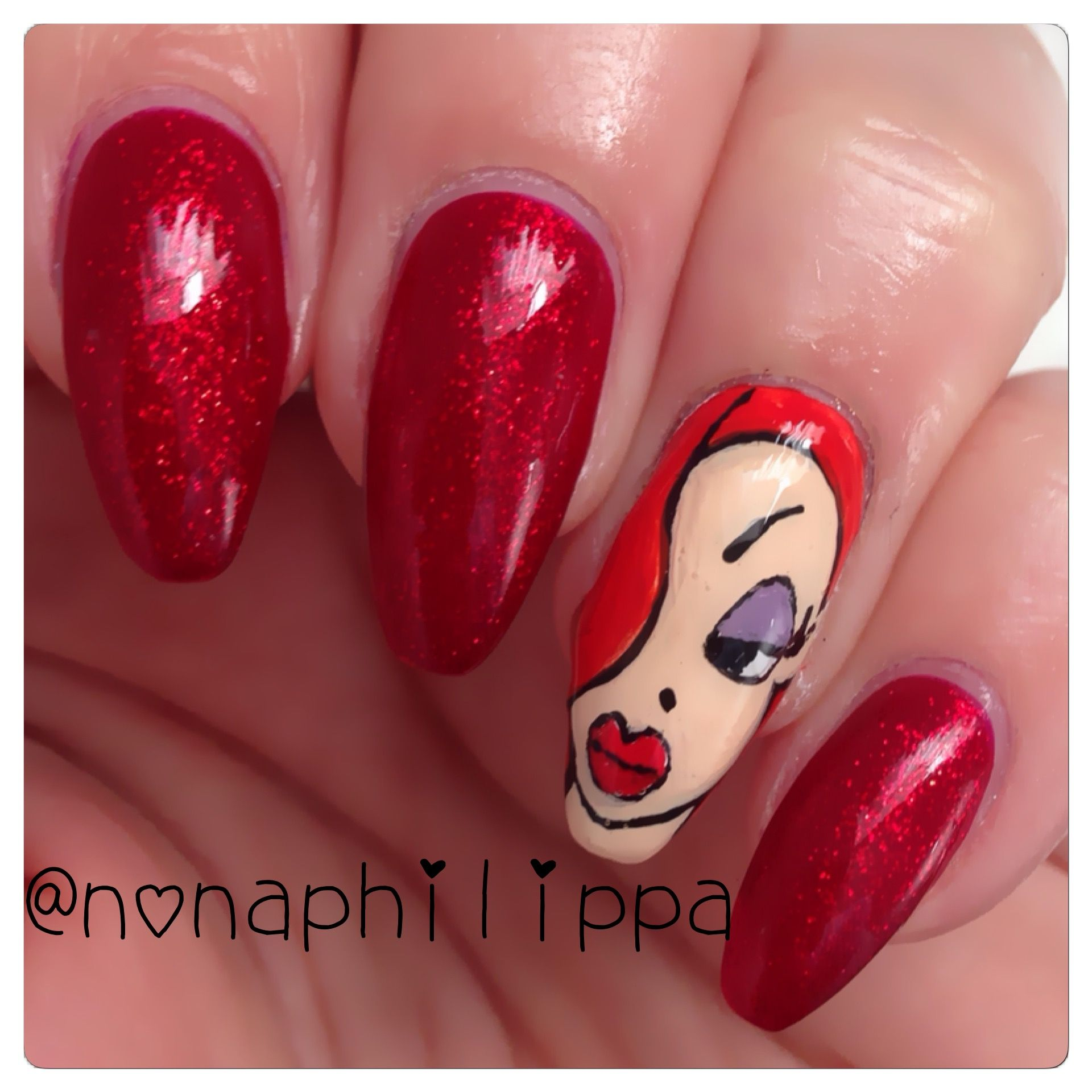 Image result for jessica rabbit nails | High Def Nails | Pinterest ...