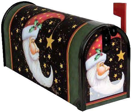 Santa Moon Mailbox Cover
