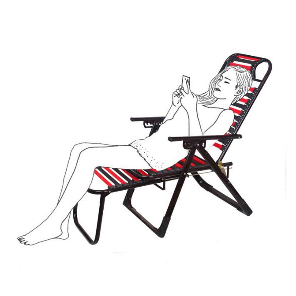 Folding Chairs ZR Breathable Elastic Rubber Band\ Lunch