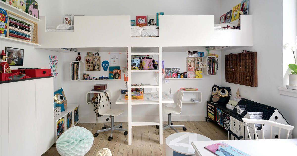 Hochbett mit Burgmauer-Optik | Kinderzimmer | Pinterest ...