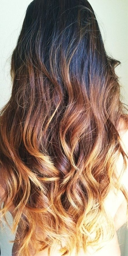Dark Brown Ombre Hair Really Like This You Don Pinterest Most Wanted Long Ombre Hair Long Hair Styles Diy Ombre Hair