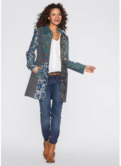 Mantel, RAINBOW, blau multi | Frau, Outfit und Mantel