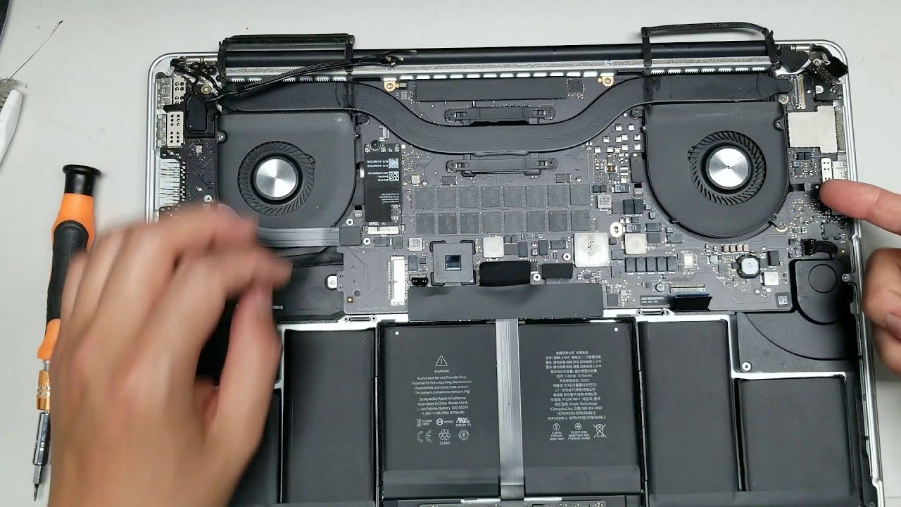 Macbook pro ssd upgrade 2015