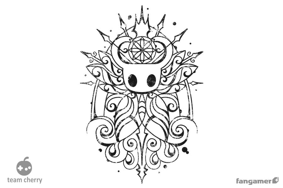 Pure Vessel T Shirt Knight Tattoo Hollow Art Knight