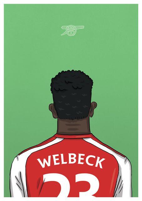 Football Backs - Mark McKenny | Illustration & Design | #tpitr