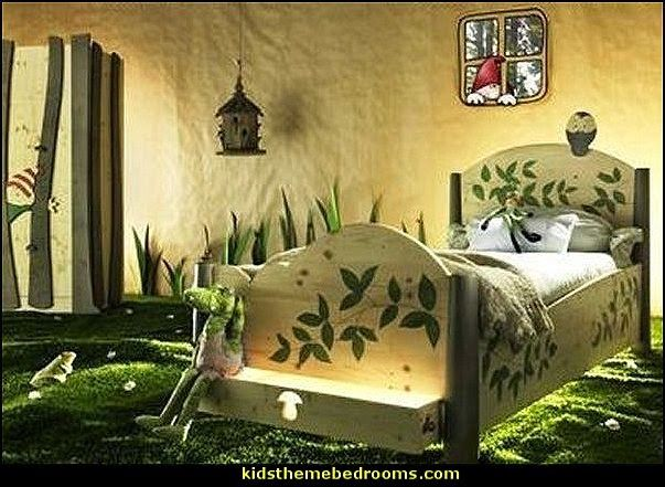Woodland Forest Theme Bedroom Ideas Forest Fairies Decor Woodland Fairy Room Decor Woodland Murals Woodland Animal Decorations Forest Animals Fairy Bedroom Themes Woodland Bedroom Forest Theme Bedrooms