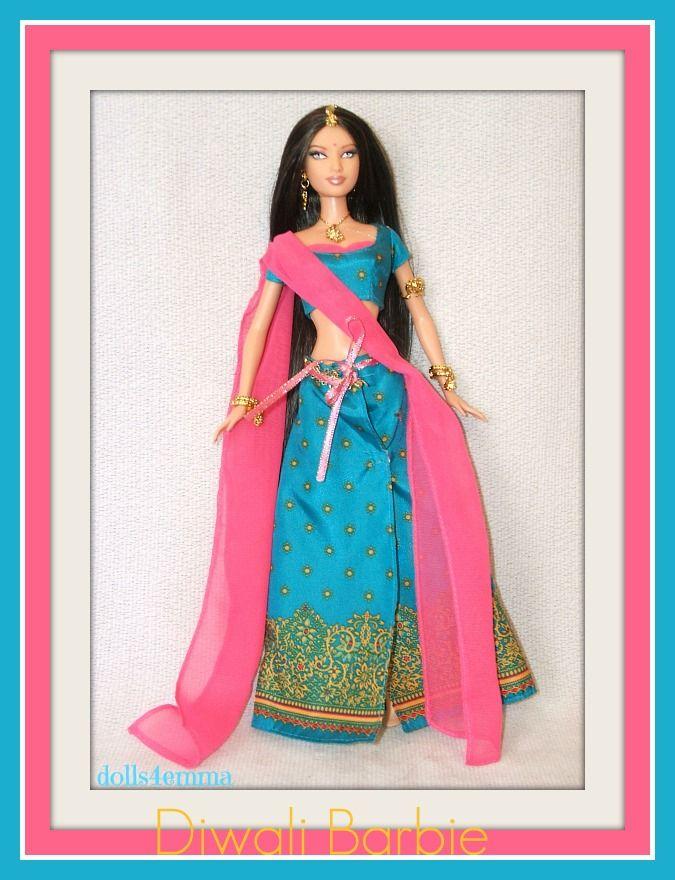 DIWALI Barbie DOTW | BARBIE DOLLS | Pinterest