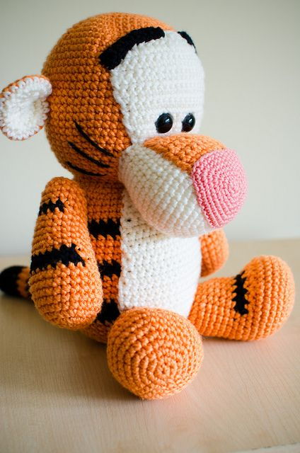 Tigger   Amigurumi and other crochet toys   Crochet animal ...