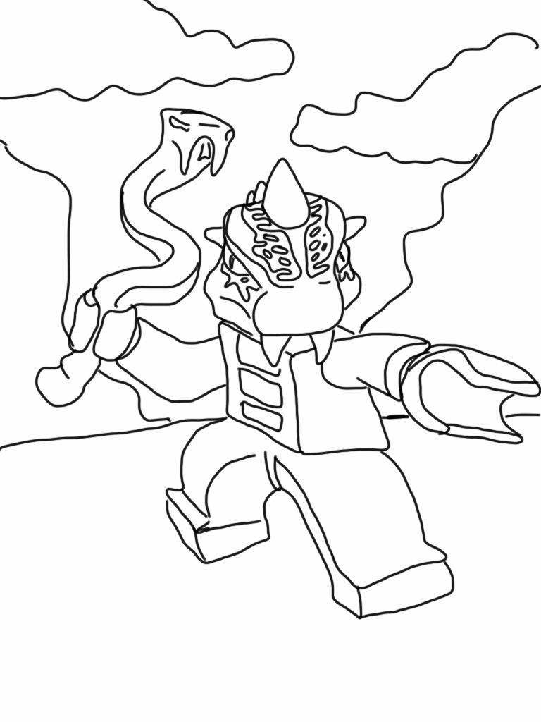 free coloring pages of ninjago - Ninjago Pictures To Color