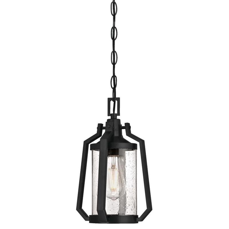 Wilber 1 Light Outdoor Hanging Lantern In 2020 Outdoor Hanging Lanterns Outdoor Pendant Lighting Outdoor Pendant