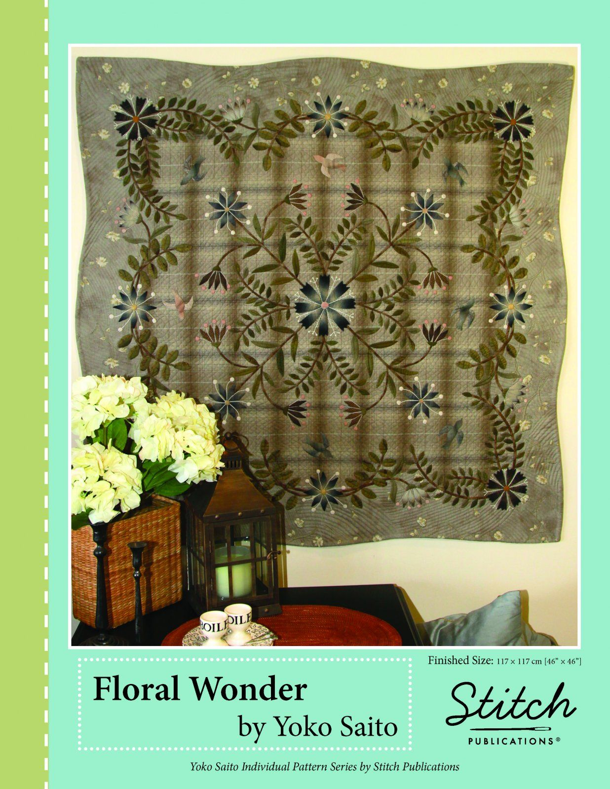 Floral Wonder by Yoko Saito   Quilts   Pinterest