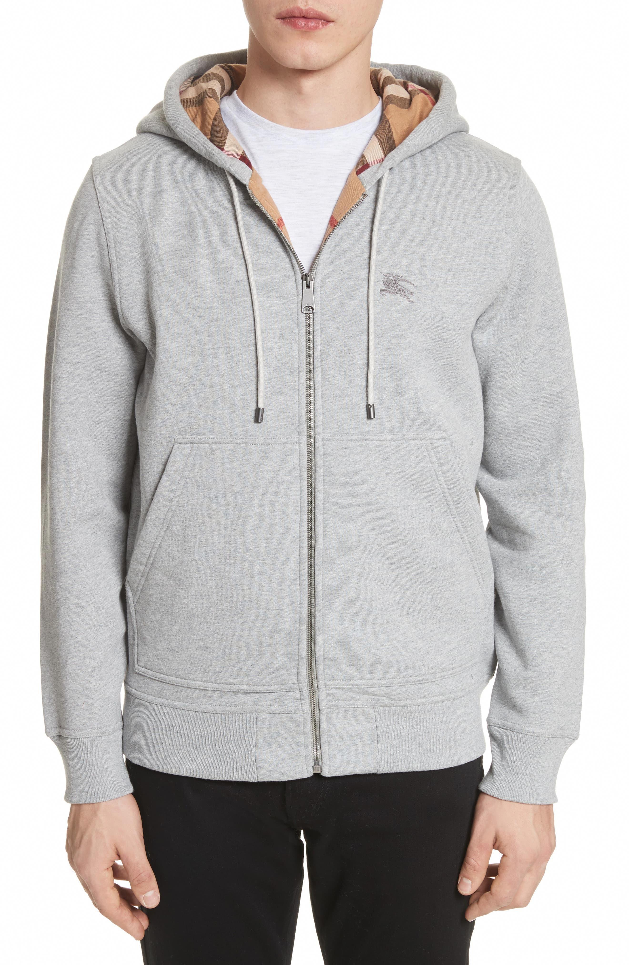 Men S Burberry Fordson Fleece Hoodie Size Small Grey Leatherjacketsformenred Mens Sweatshirts Hoodie Fleece Hoodie Hoodies Men [ 4048 x 2640 Pixel ]