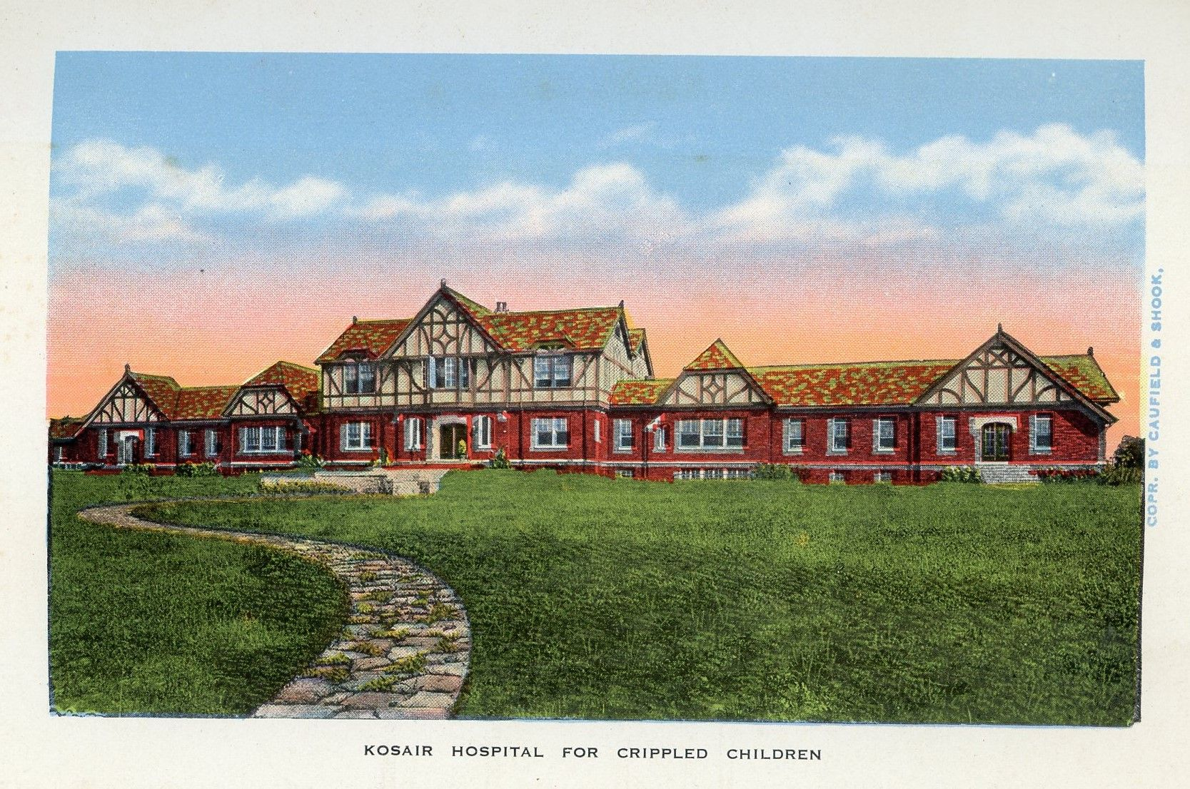 Early 1900's postcards. Hagins collection.