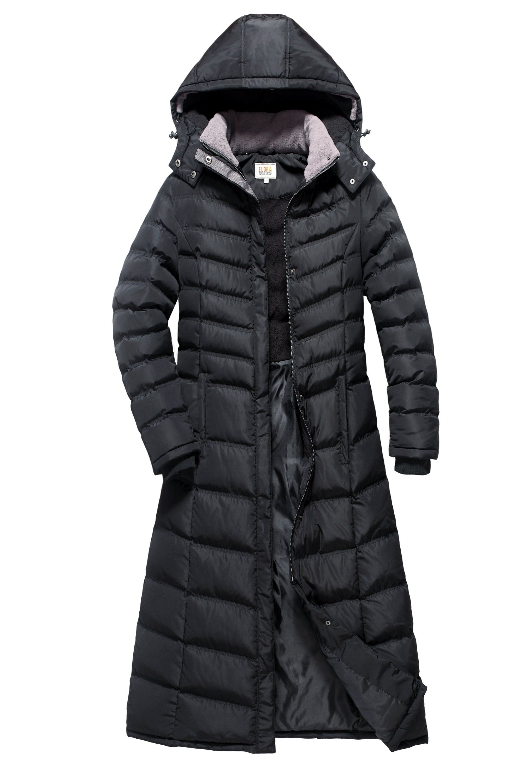 Full Length Ladies Puffer Coat With Fleece Lining Coats For Women Puffer Coat Winter Coats Women [ 3000 x 2000 Pixel ]