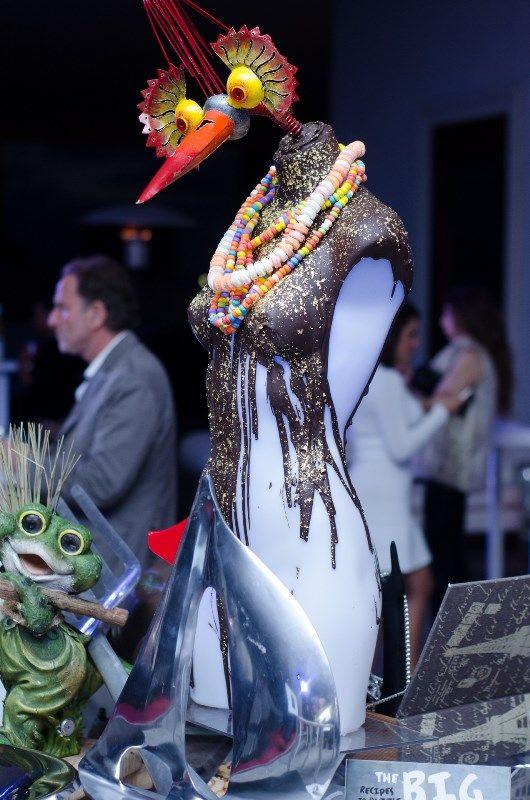 Luxury Lifestyle Showcase - Jade Ocean Event partner, Barton G Restaurant, display table