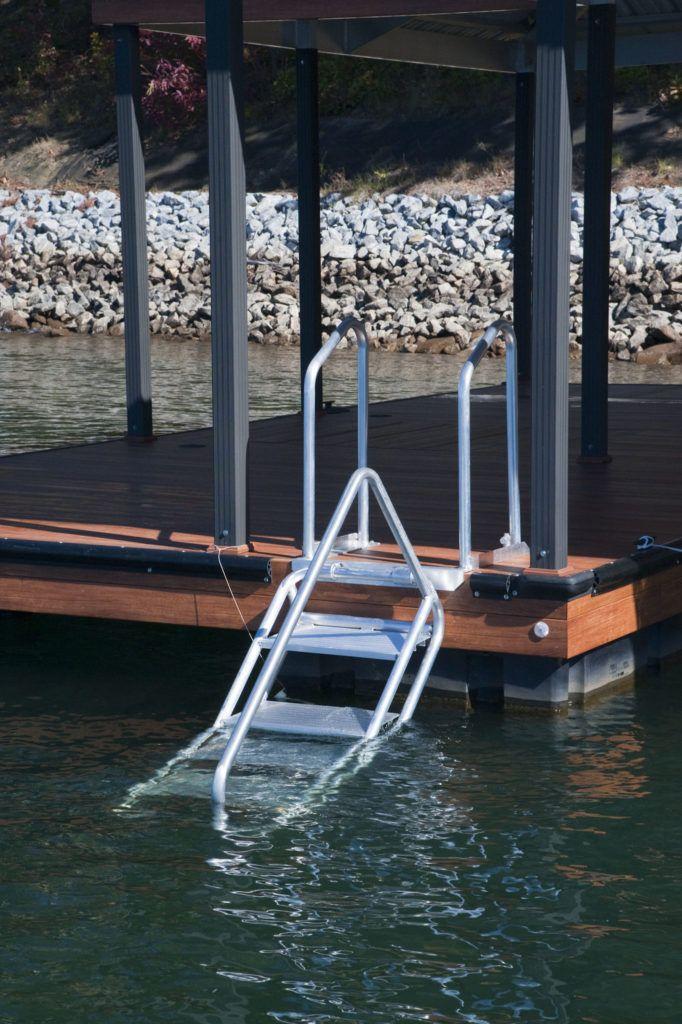 Easy Climb Ladder Dock Ladder Lakefront Living House Boat