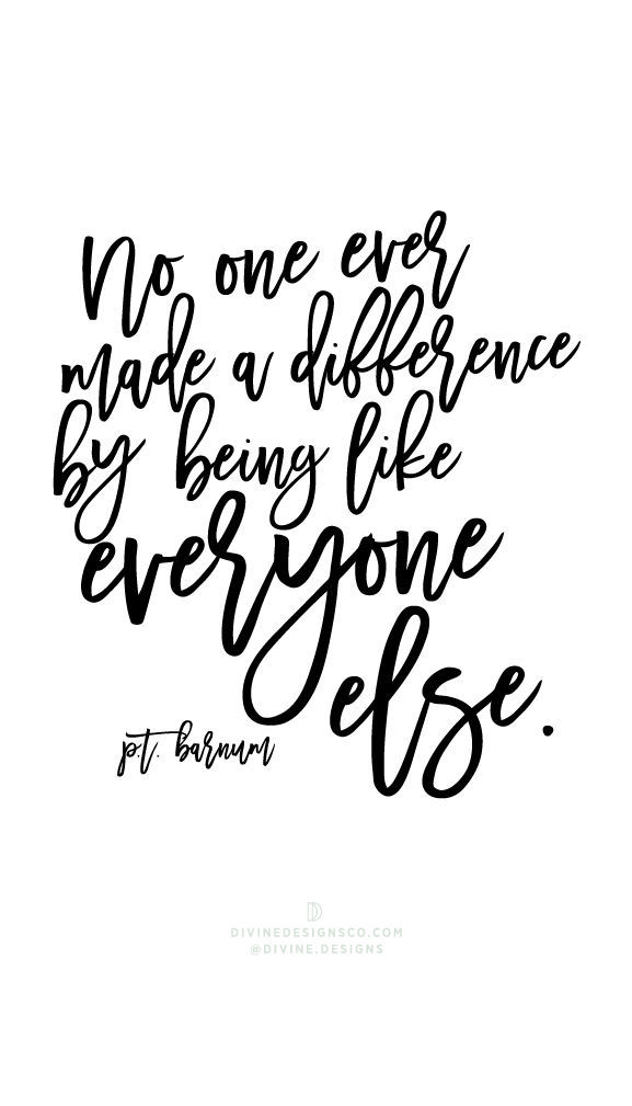 No one ever made a difference by being like everyone else pt no one ever made a difference by being like everyone else pt barnum the greatest showman quotes and lyrics hugh jackman pt barnum zac efro stopboris Image collections