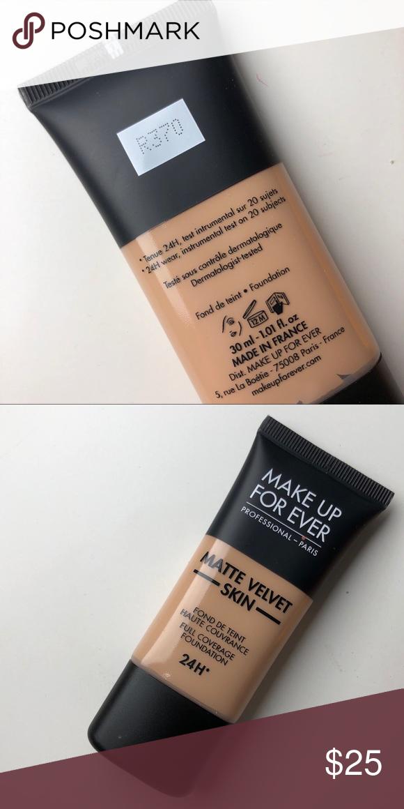 R370 medium beige mufe matte velvet skin Velvet skin