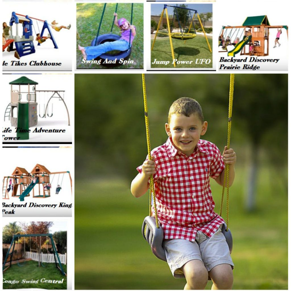 Add A Swing Set To Your Yard - Seeds And More Garden Talk