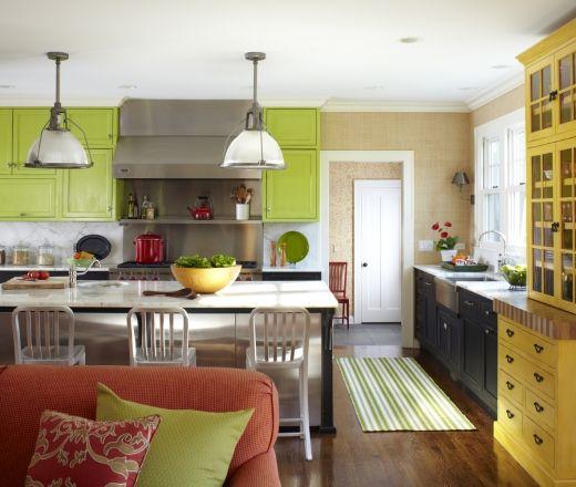 Eclectic Island Style Kitchen Cabinets Krw Design Associates Kitchen Design Kitchen Color Combos Kitchen Remodel
