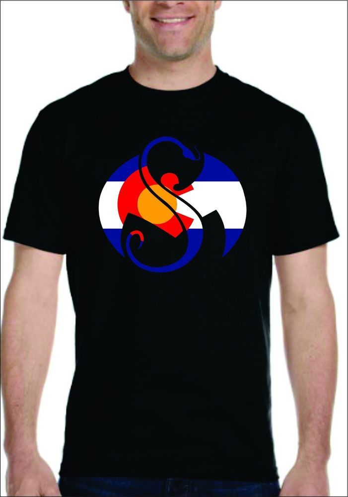 4bfccfb43 Colorado Flag With Strange Music Tech N9ne T-shirt MEN WOMEN TECH NINE 9