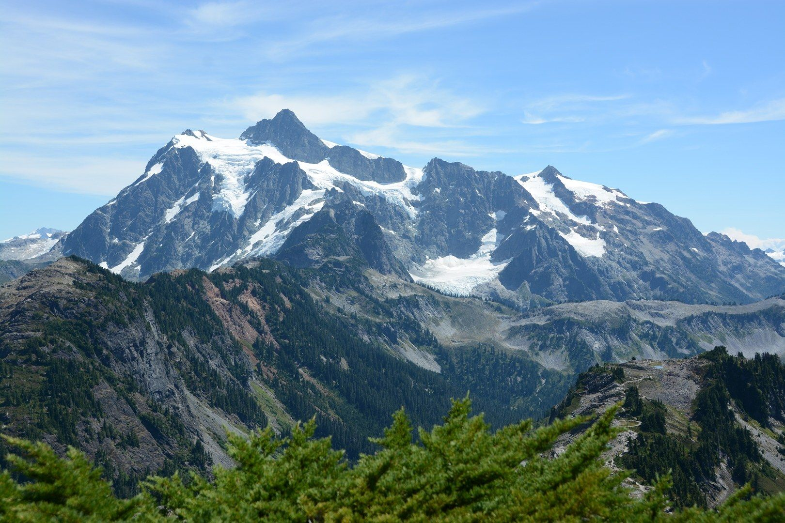 Mount Shuksan from Table Mountain. Photo by Ken Giesbers