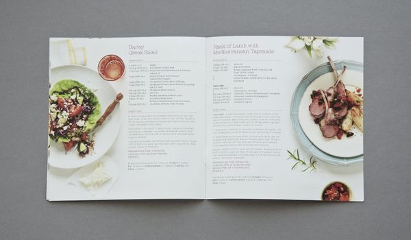 Foodland Spring Recipe Book 2012 by Kimberley Pereira, via Behance