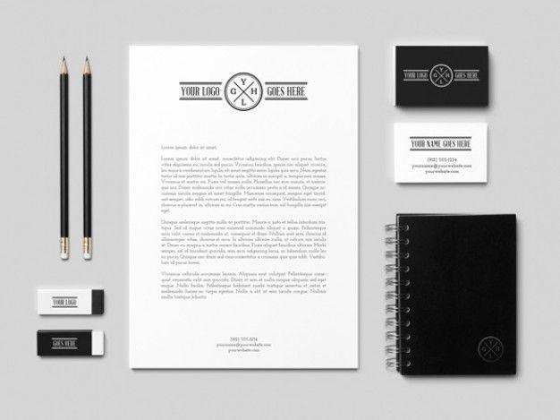 Identity business card mockup PSD | mock-ups!!!! | Pinterest | Mockup