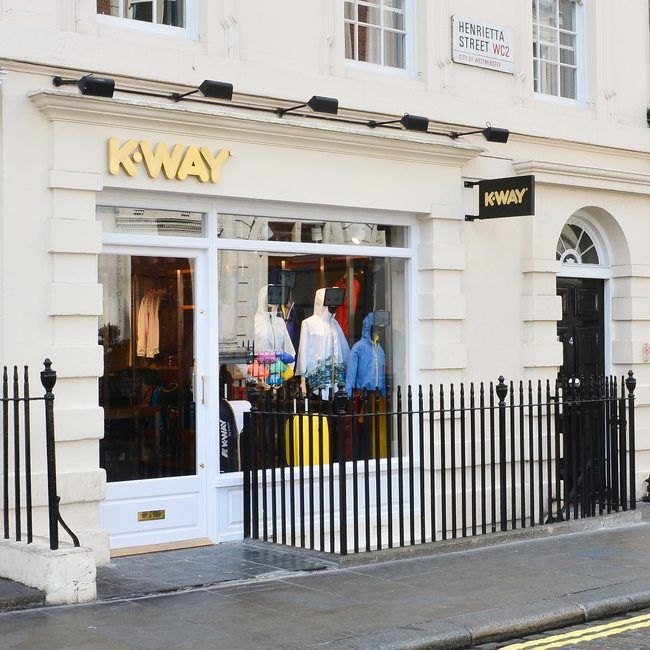 K-Way launches Covent Garden store - News : Retail (#830645)