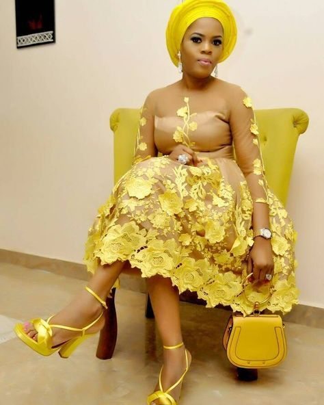 100+ Aso Ebi Fashion Trends - See What Stylish Wed