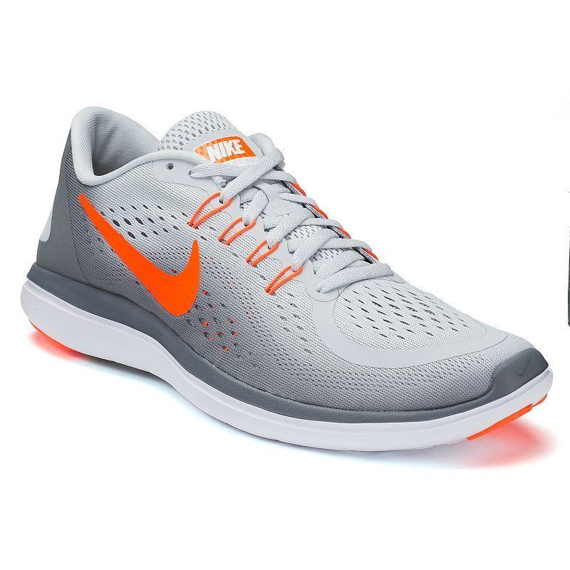 54e45e0111d Nike Flex 2017 RN Men's Running Shoes, Size: 10.5, Grey (Charcoal)