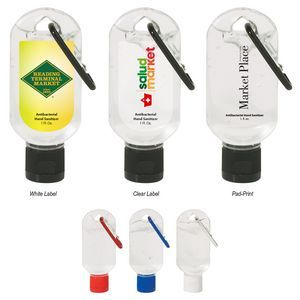 Customized 50ml Hand Sanitizer With Carabiner 9055 Only
