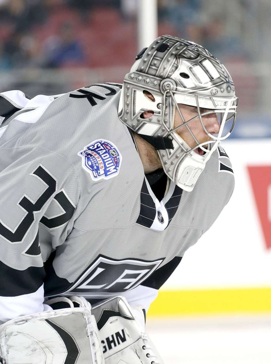 Jonathan Quick Los Angeles Kings La Kings Hockey Kings Hockey Los Angeles Kings