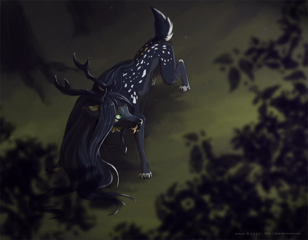 com-in the forest by azzai on deviantart www.azzai.deviantart.com/art/com-in-the-forest-498219208