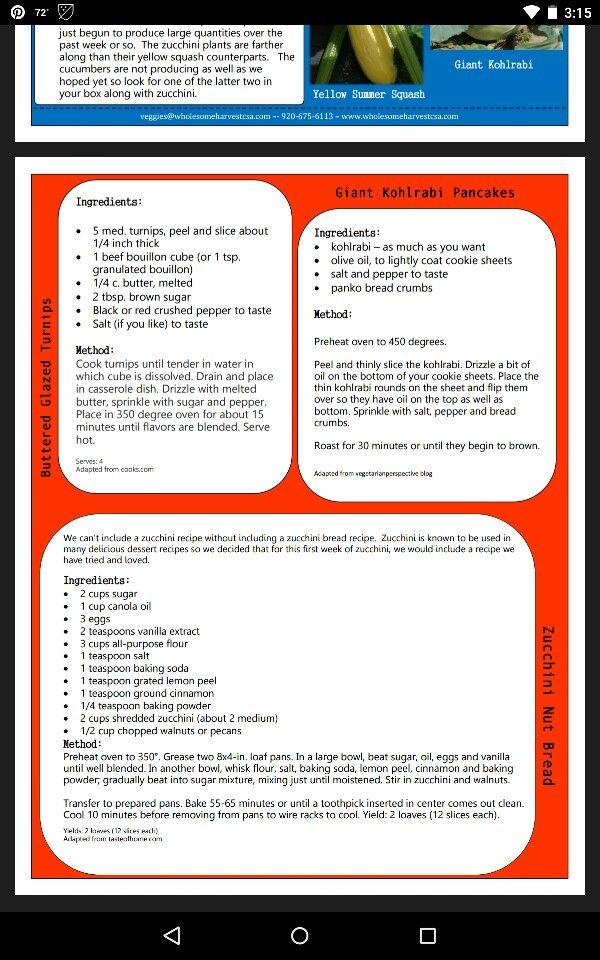 Turnip and kohlrabi recipes