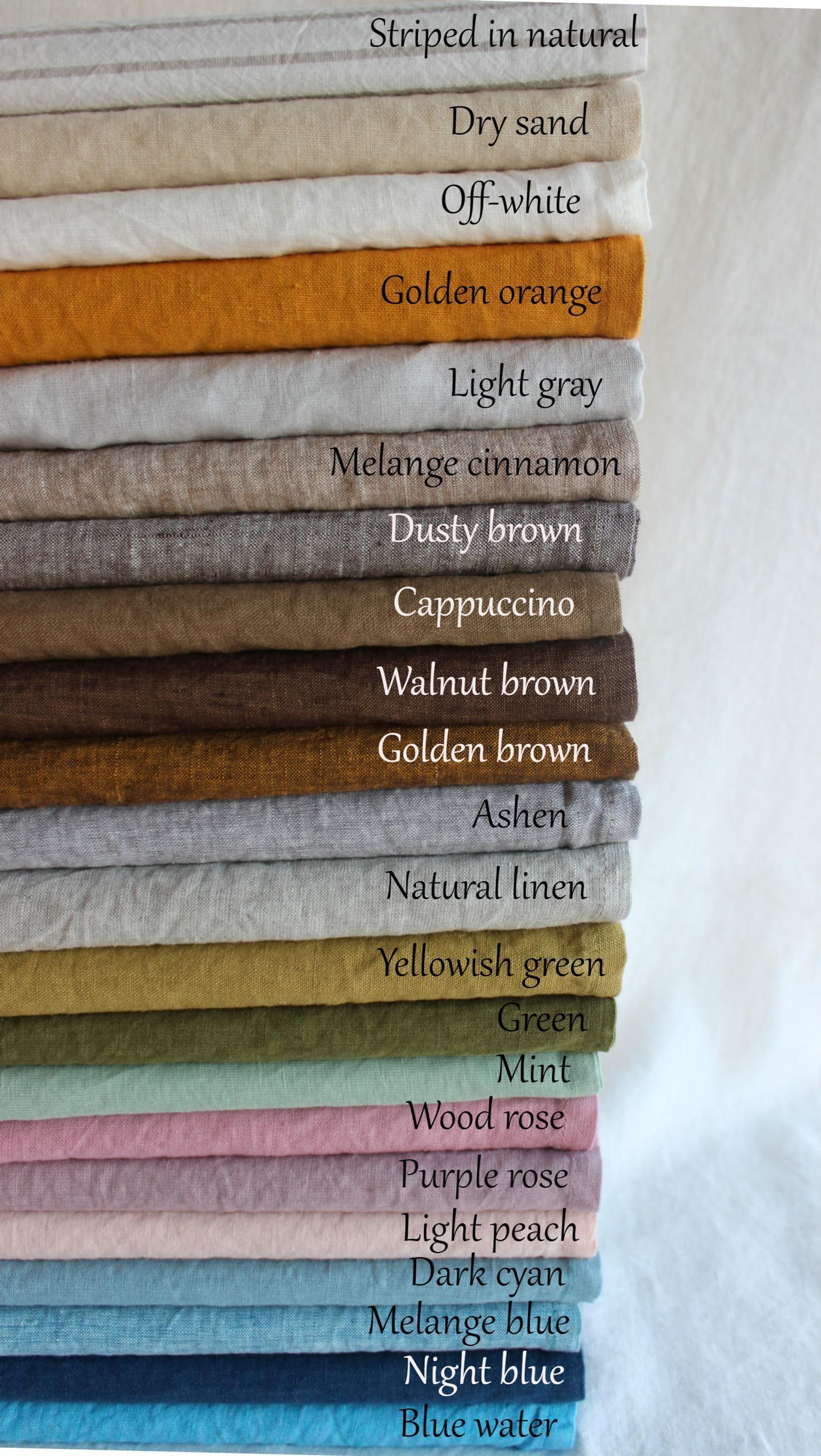 Linen Pillowcase. Stonewashed 100% Linen. Softened