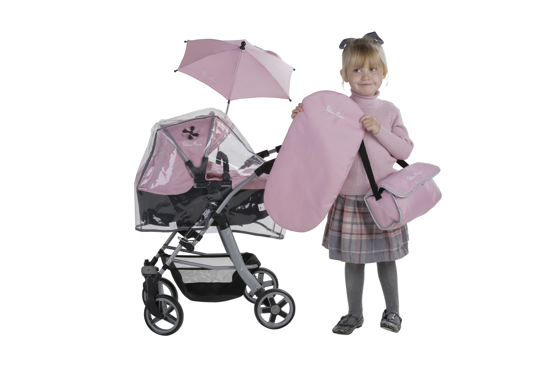 Our beautiful Vintage Pink Pioneer 5 In 1 Dolls Pram, £59