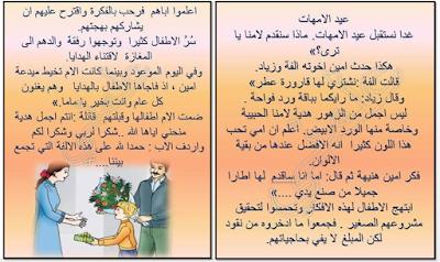 ملفات رقمية عيد الامهات انتاج كتابي Blog Posts Arabic Worksheets Worksheets