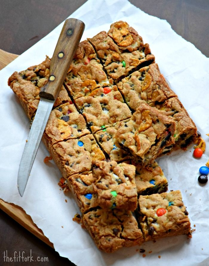 Everything But The Kitchen Sink Cookies moreo blondie bars loaded with yum + cookie recipes | dark