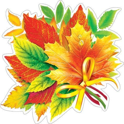Картинки листьев на открытки