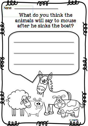 Who sank the Boat? Maths and Literacy Pack. A Pamela Allen