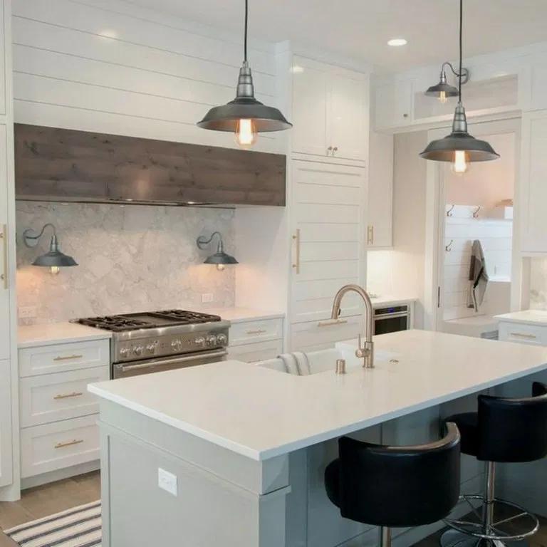 34 Simple Small Kitchen Design Ideas in 2020 | Kitchen ...