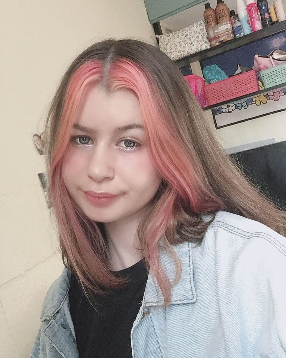 Hair Pink Hair Hair Idea In 2020 Pink Hair Hair Streaks Hair Inspo Color