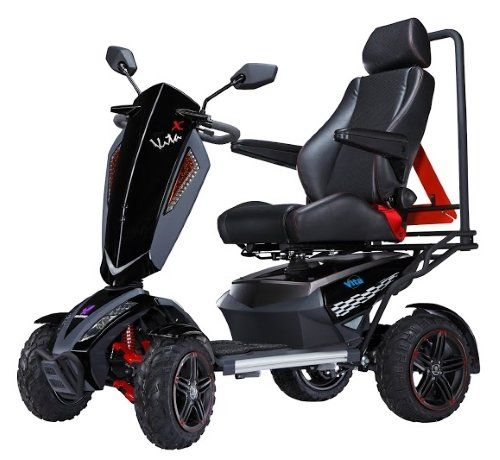 Mobility Scooter VITA MONSTER 900 Watt 4 Wheeled Trike