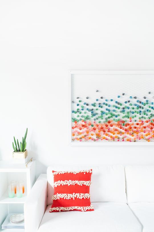 DIY: Paper Wall Art | DIY Home Decor Projects | Pinterest | Paper ...